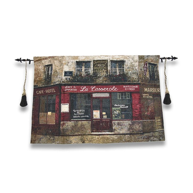 Paris Forgotten Tapestry Wall Hanging With Tapestries