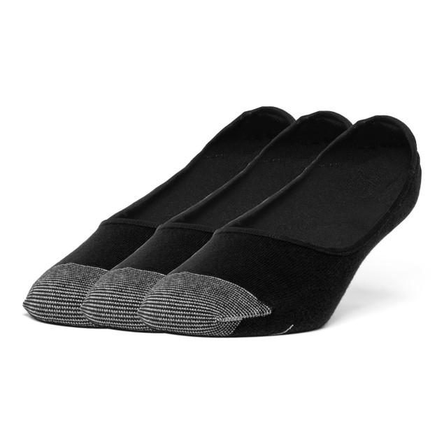 Galiva Men's Cotton Lightweight No Show Liner Socks - 3 Pairs