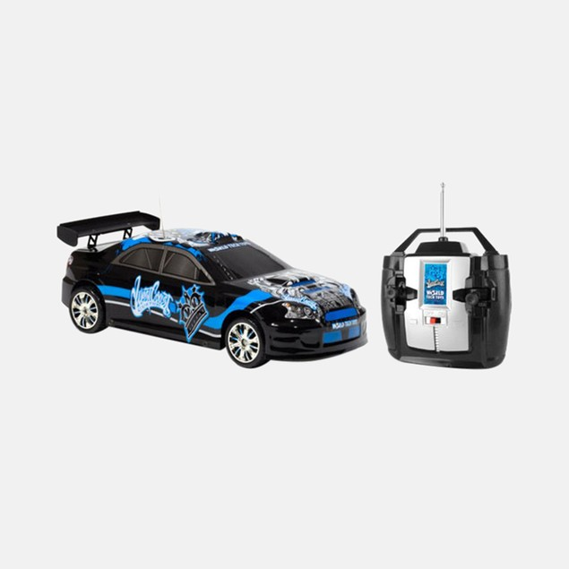 Licensed West Coast Customs Black Tuner Style Extreme Ryders 1:18 RTR RC Car