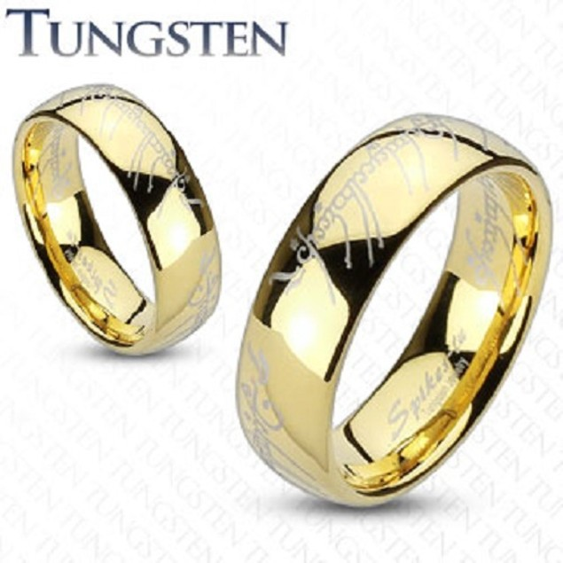 8mm Width Band Tungsten Ring For Men