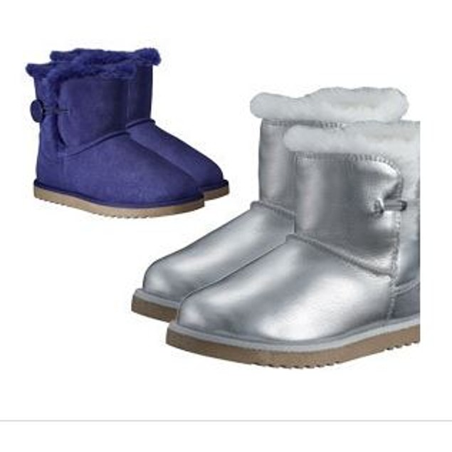 Girls' Luxury Australian-Style Boots with Faux-Fur