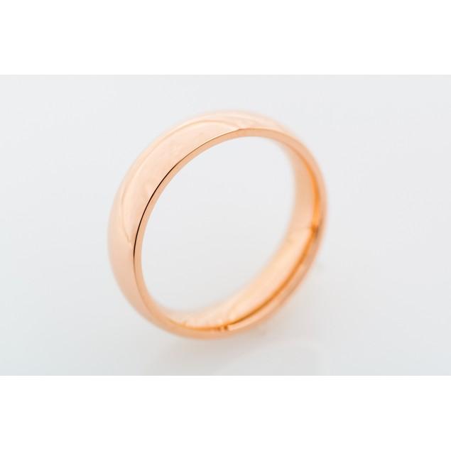 Rose Gold Tone Band Ring