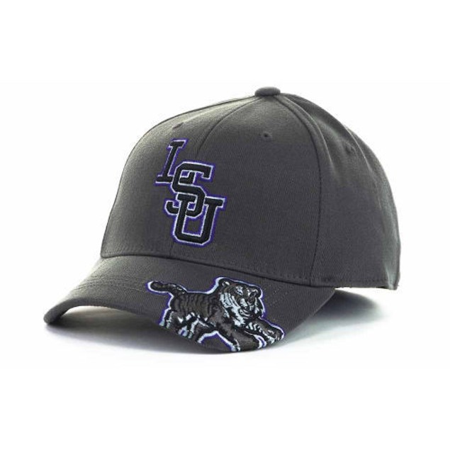 """LSU Tigers NCAA TOW """"All Access"""" Stretch Fitted Hat"""