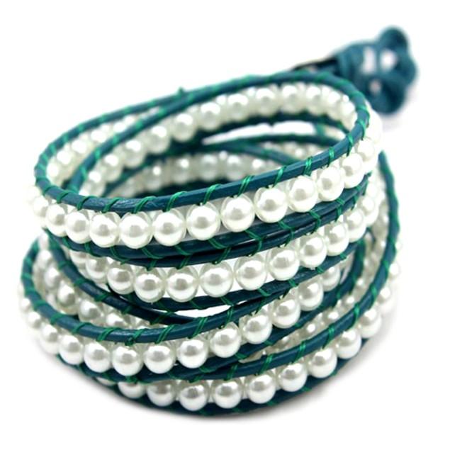 Blue Sea Wrap Bracelet