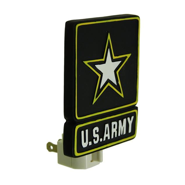 United States Army Star Logo Plug In Night Light Night Lights