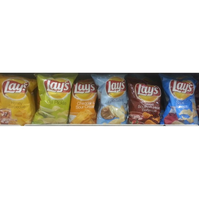 Frito Lay Lays Chips 9 1/2 OZ Bags Multiple Flavors Available