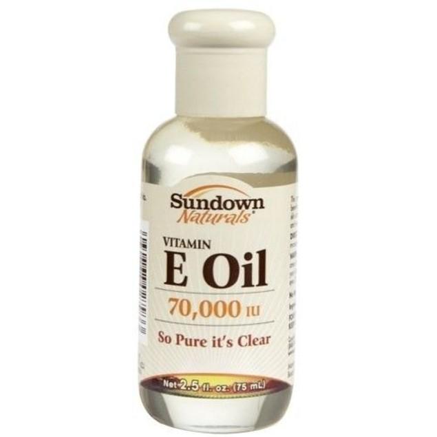 Sundown Naturals Vitamin E Oil 70,000 IU - 2.5 Fl Oz  (75mL)
