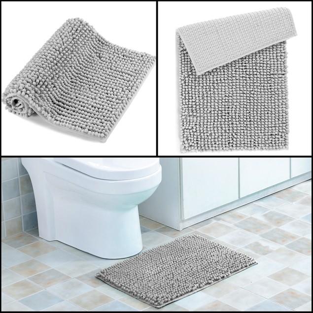 """17"""" x 24"""" Ultra-Soft Anti Slip Bubbles Bath Mat"""