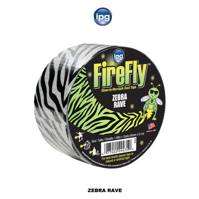 3-Pack Glow in the Dark Duct Tape - 2 Styles Available