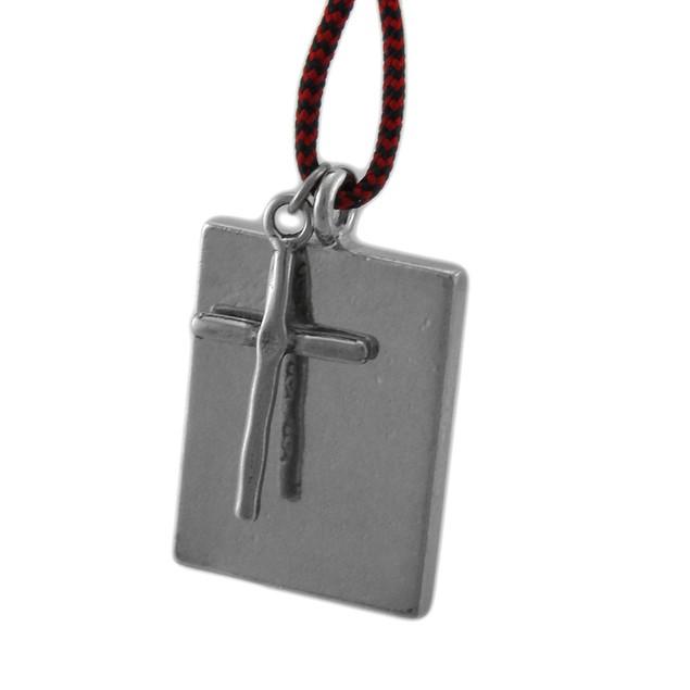 John The Baptist Blessed Saint Pendant W/ Cord Womens Pendant Necklaces