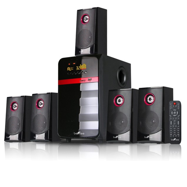 BeFree - 5.1 Channel Surround Sound Home Theater System
