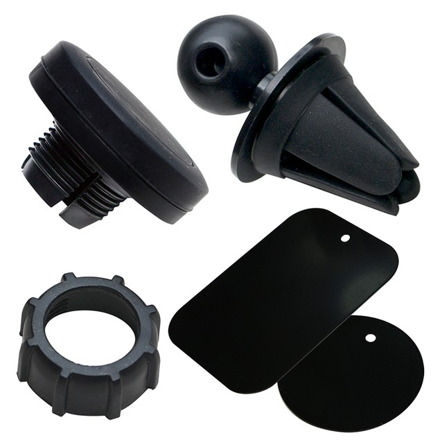 2-Pack: Universal Magnetic Air Vent Car Mount