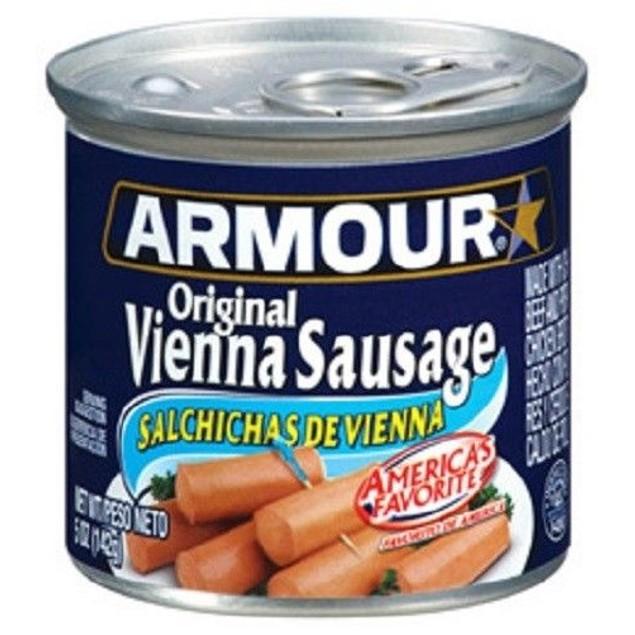 Original Armour Star Vienna Sausage 4.75 oz Can