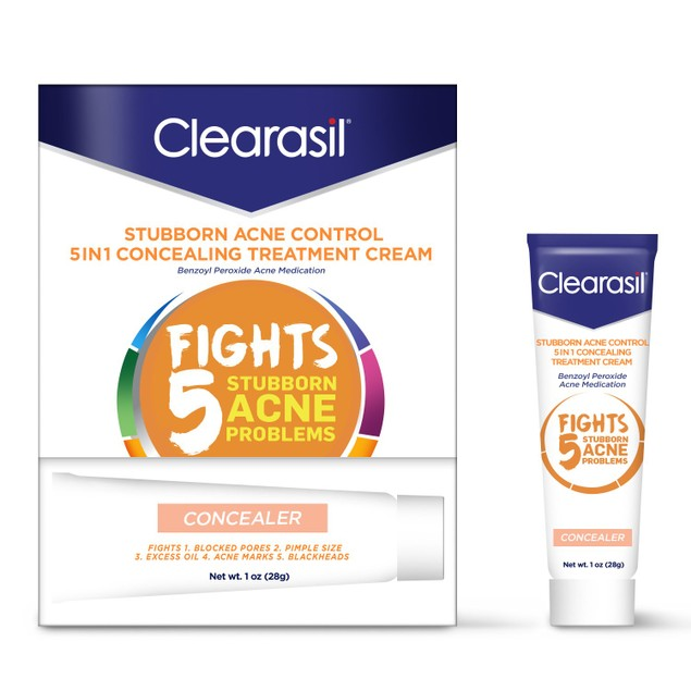 Clearasil Stubborn Acne Control 5in1 Concealing Treatment Cream
