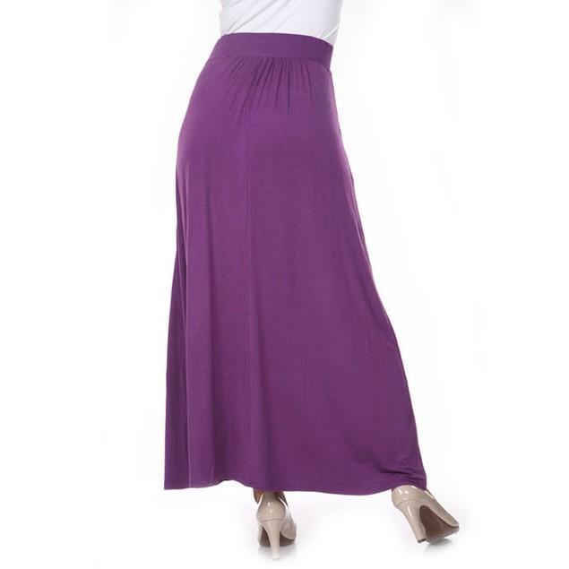 Purple Maxi Skirt
