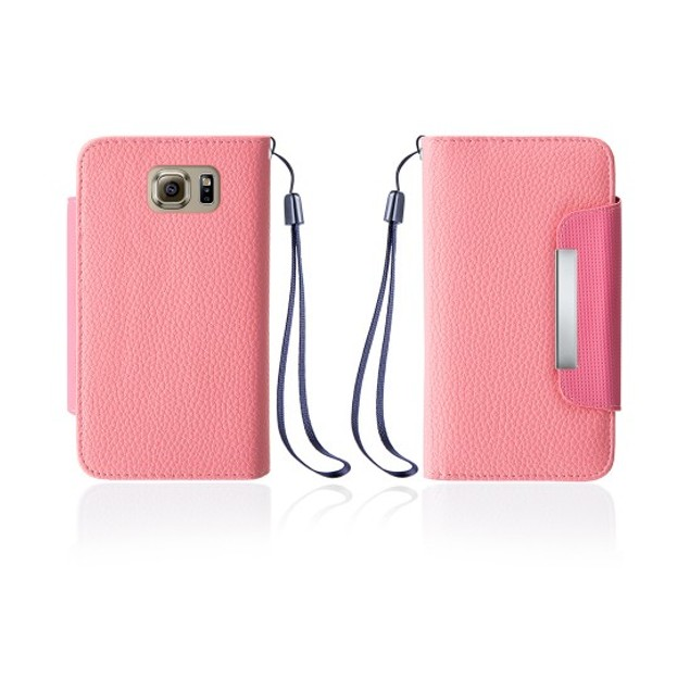 Leather Wallet Case With Clip for Samsung Galaxy S6