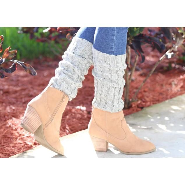 Crochet Leg Warmers (2-Pair) - 6 Colors