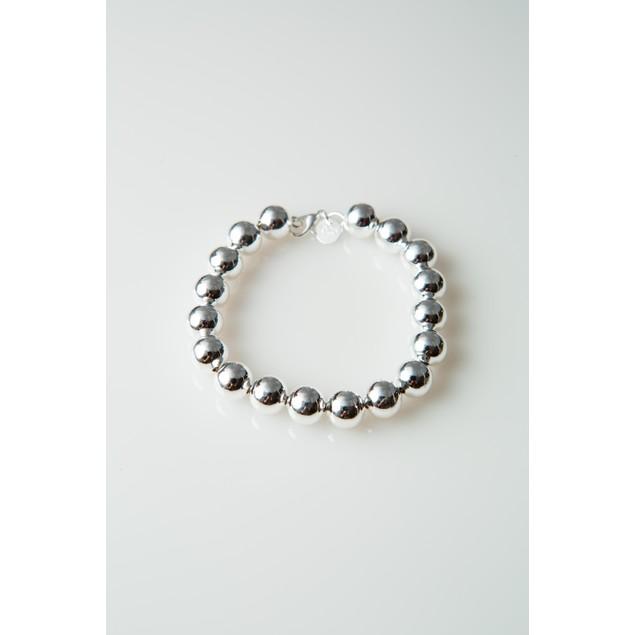 """Sheek Bead Bracelet - 8"""" long"""