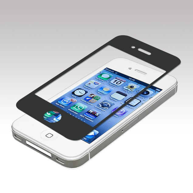 Glass Screen Protector for iPhone 4