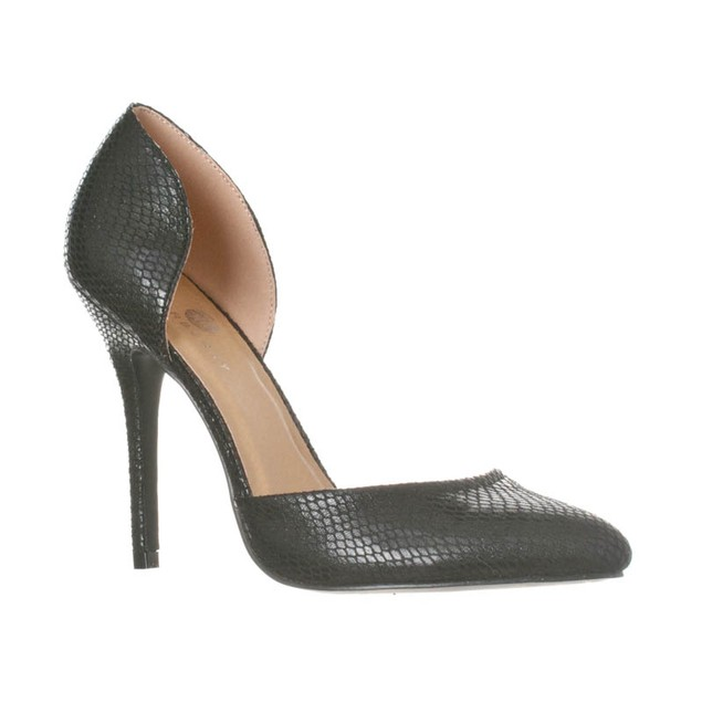 Riverberry Women's Nora Fashion Pointed Toe D'Orsay Pump Heels