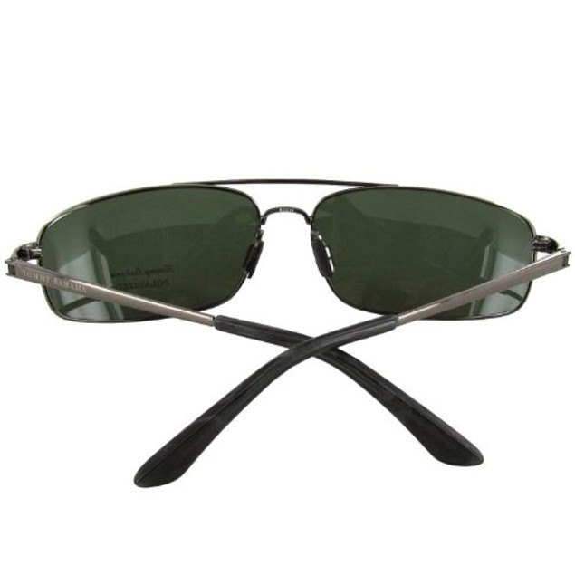 Tommy Bahama TB6000 Polarized Sunglasses - Gravel/Green Solid