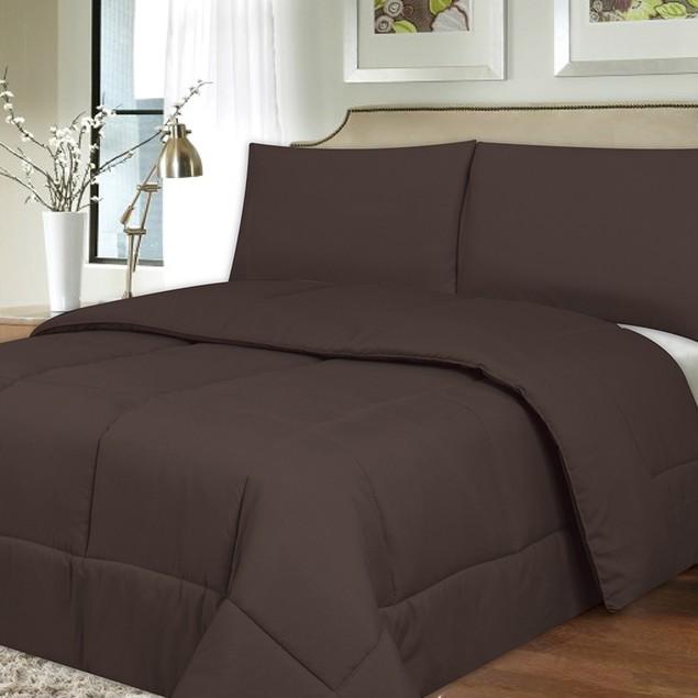 Plush Down Alternative Reversible Comforter