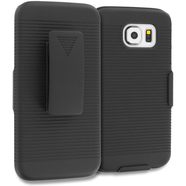 Samsung Galaxy S6 Belt Clip Hard Holster Case Cover