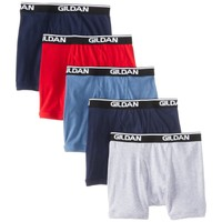 4-Pack Gildan Men's 100% Cotton Briefs