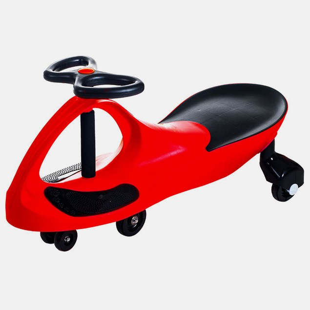 Lil' Rider Wiggle Ride On Car - Red