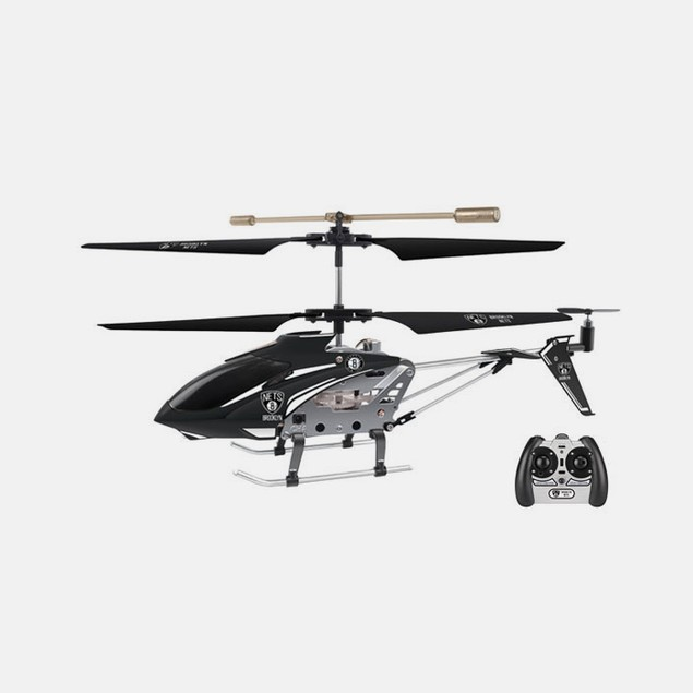 NBA Brooklyn Nets Team RC Helicopter