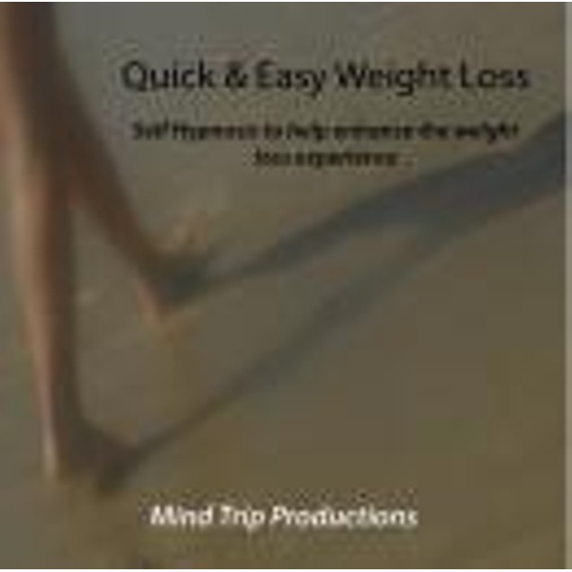 Quick & Easy Weight Loss Hypnosis CD