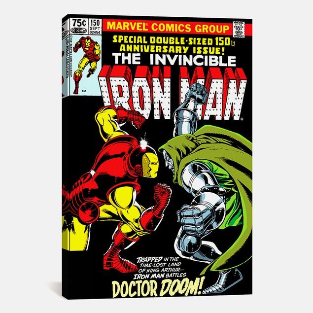 Marvel Comics Iron Man Issue Cover #150 Print