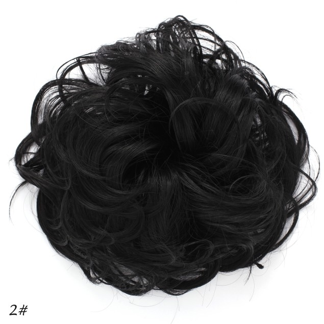 OneDor Synthetic Clip on/in Messy Hair Bun Extension