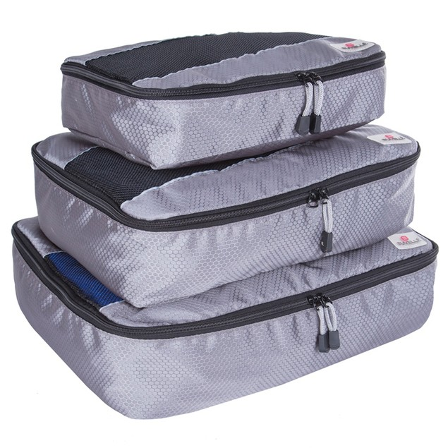 3 Pack: Suvelle Packing Cubes Organizer