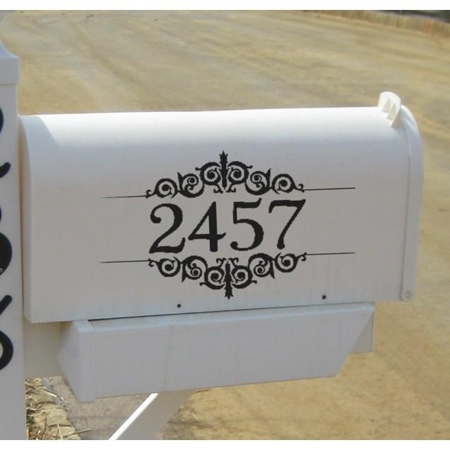 Mailbox Decal Design 19
