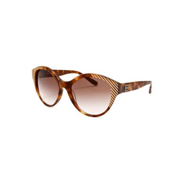 Chloe Wayfarer Sunglasses - Tortoise