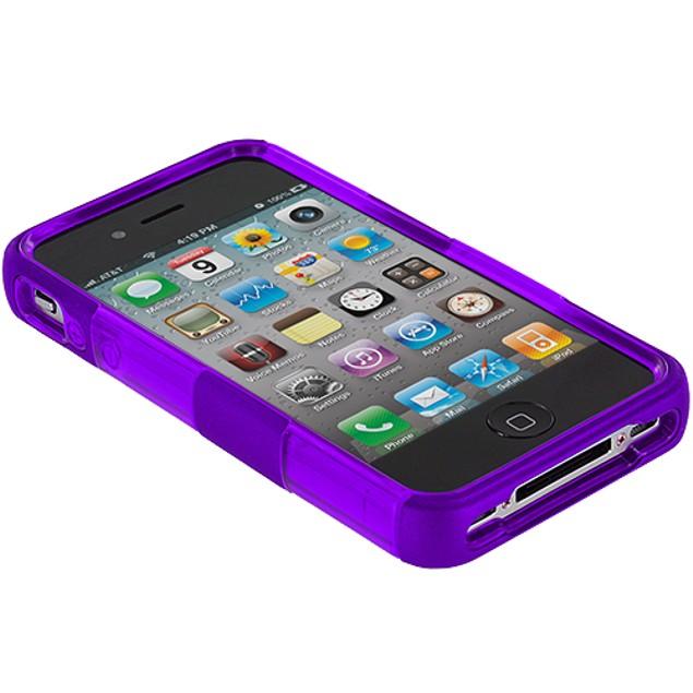 Apple iPhone 4 Hard TPU Hybrid Case Cover