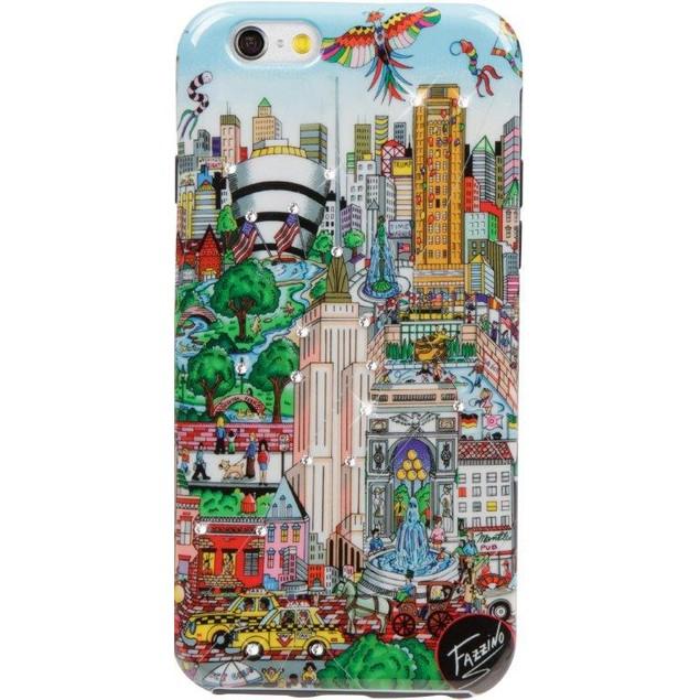 Fazzino Flying Over New York iPhone 6/6S Plus Case