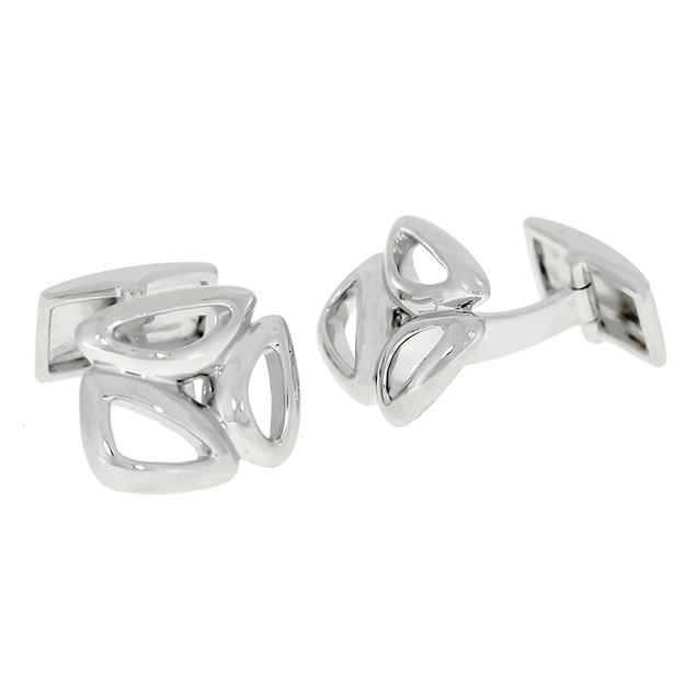 Designed Sterling Silver Cufflinks