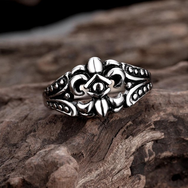 Spartan Shield Stainless Steel Ring