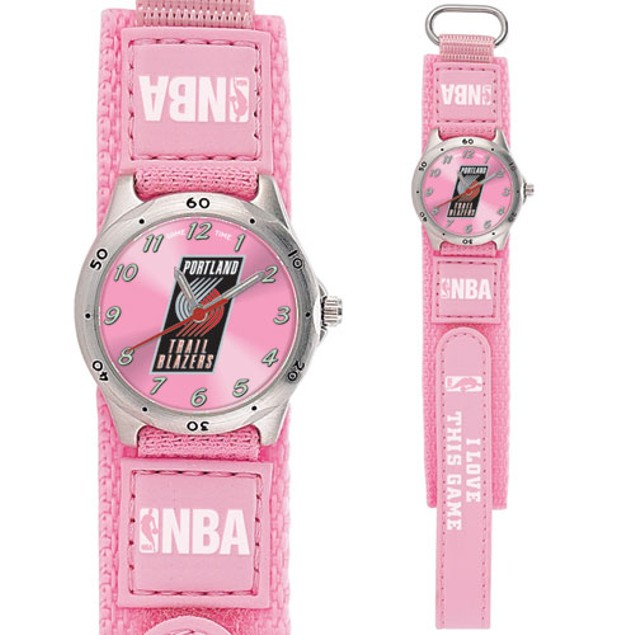 Portland Trail Blazers Girls NBA Watch
