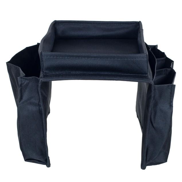 Trademark 6 Pocket Arm Rest Organizer w/ Table-Top