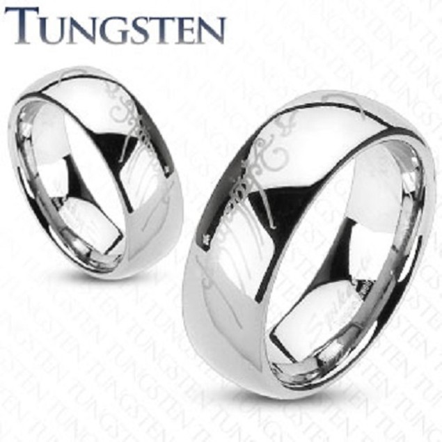 Elegance Tungsten Men Comfort Fit Ring