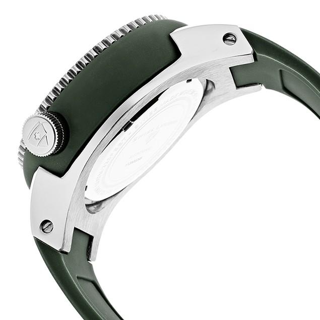 Swiss Legend Men's Neptune Hunter Green Dial Hunter Green Silicone