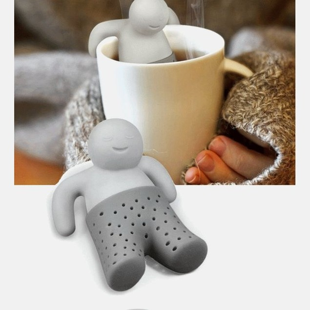 2-Pack Fred and Friends MISTER TEA Tea Infuser