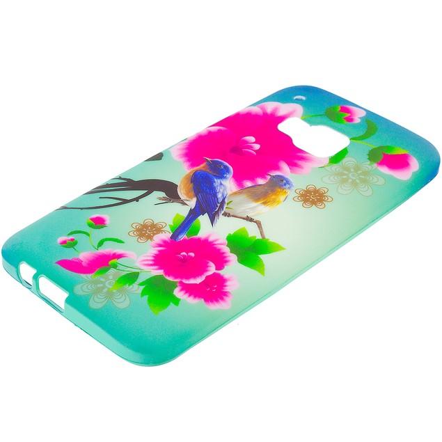 HTC One M9 TPU Design Rubber Skin Case Cover