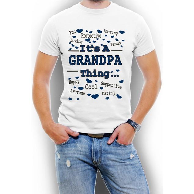 """It's A Grandpa Thing"" Men's T-Shirt"