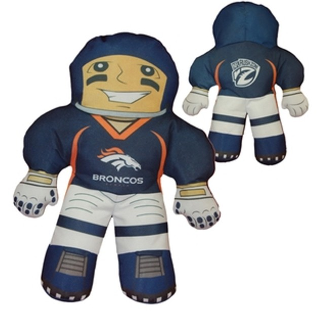 Officially Licensed NFL Character Pillows - Denver Broncos