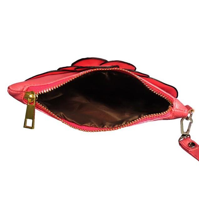 AFONiE Small Floral Wristlet Bag