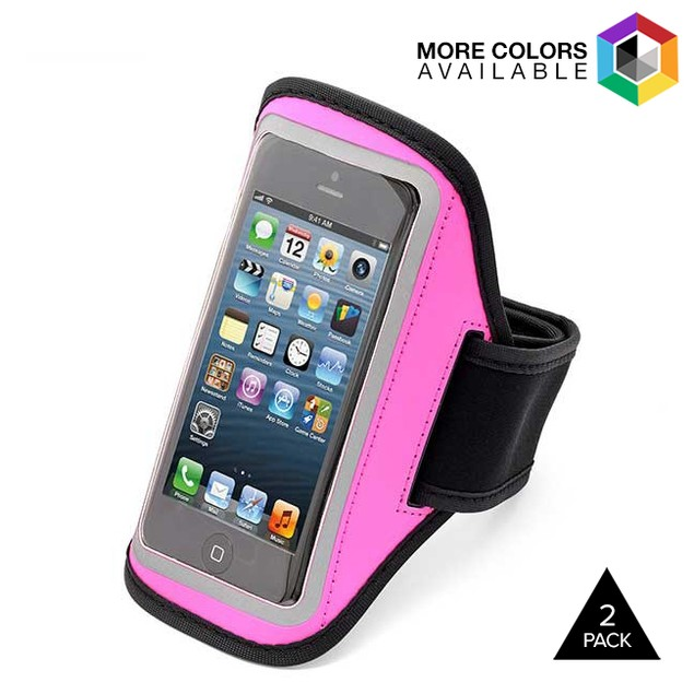 2-Pack Aduro U-Band Sport Armbands for all iPhone Models
